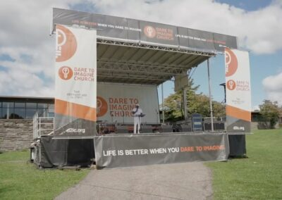 concert stage at dare to imagine