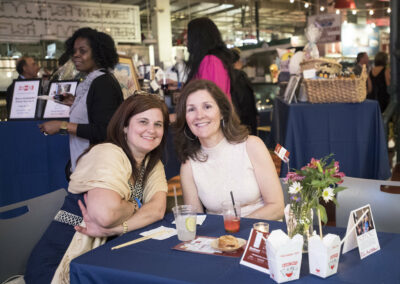 guests smile at event