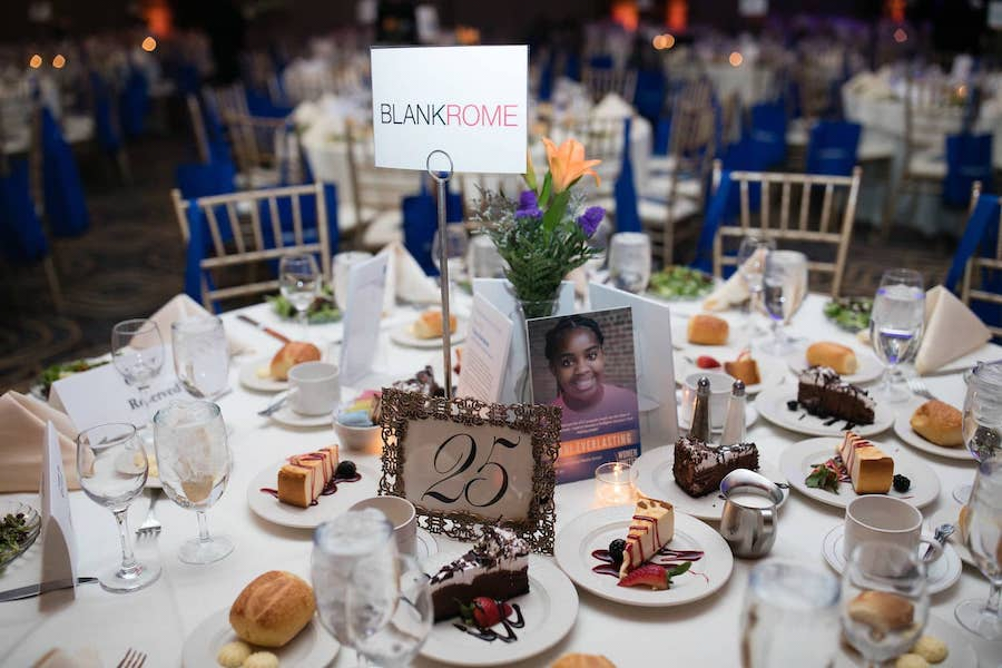 beautiful tablescape from elegant event